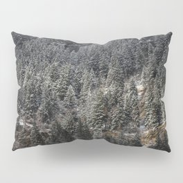 Powdered Mountain Pillow Sham