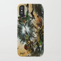 battlefield iPhone & iPod Cases featuring The Battlefield by Fresh Doodle - JP Valderrama