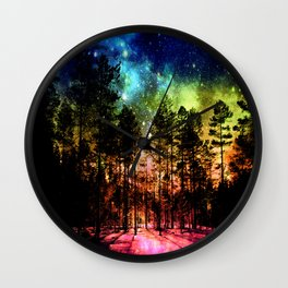 One Magical Night ( Rainbow ) Wall Clock