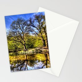 The quite Pond Stationery Cards