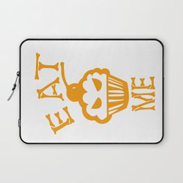 Eat me yellow version Laptop Sleeve