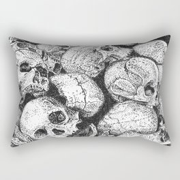 Pile o' Skullies Rectangular Pillow