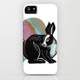 Love Rabbits Heart iPhone Case
