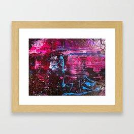 colors one Framed Art Print