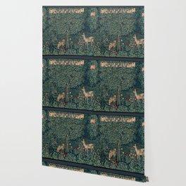 William Morris Greenery Tapestry Wallpaper
