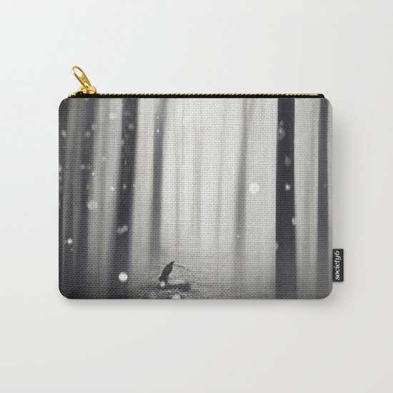 Winter Song Carry-All Pouch