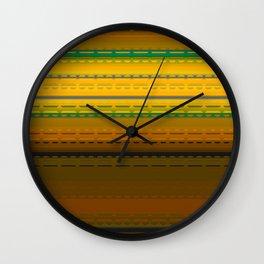 PaintedDesert 02 Wall Clock