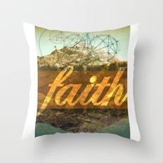 FAITH (1 Corinthians 13:13) Throw Pillow