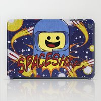 spaceship iPad Cases featuring Spaceship!  by Brieana