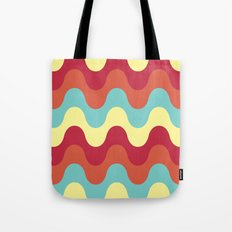 melting colors pattern Tote Bag