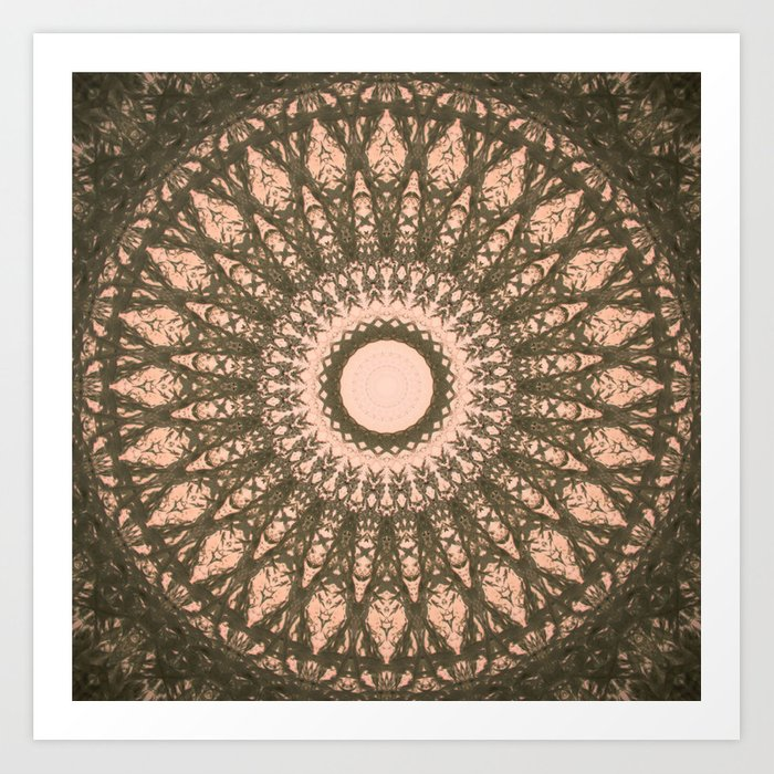 MANDALA NO. 28 #society6 Art Print