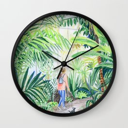 nice walk Wall Clock
