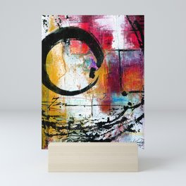 Enso Abstraction No. mm15 Mini Art Print