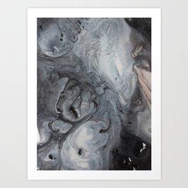 COLR CINZA Art Print