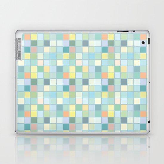 Pastel Squares Laptop & iPad Skin