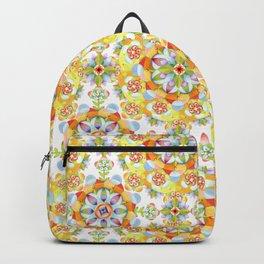Flower Garden Mandala Backpack