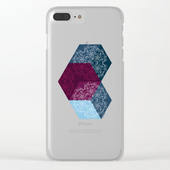 Caleidoscube Clear iPhone Case