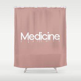 Harry Styles Medicine graphic artwork Shower Curtain