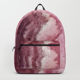 Rosey Rose Quartz Crystal Backpack
