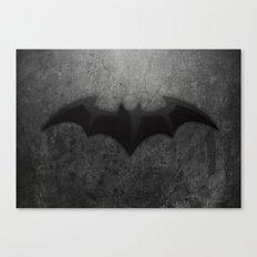 Its too Dark Canvas Print