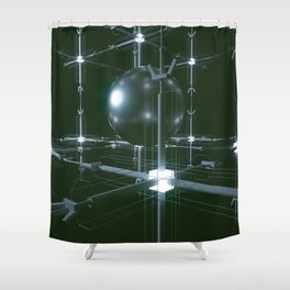 STATION Shower Curtain