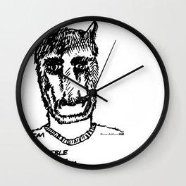 Horrible Artist Wall Clock