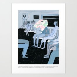 A Velocity of Being: Daniel Salmieri Art Print