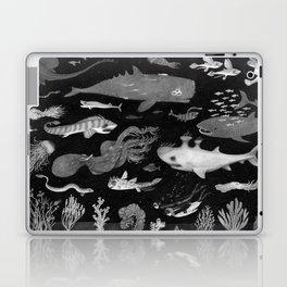 Dangers of the Deep Unknown Laptop & iPad Skin