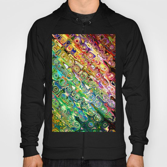 Colorful Glass Abstract Hoody
