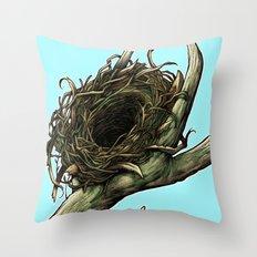 The Horn Throw Pillow