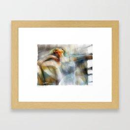 The Last Dance, dancer Framed Art Print
