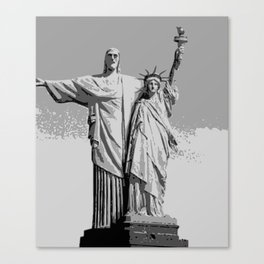 COUPLE Canvas Print
