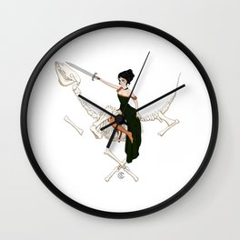 On a dead horse, you will not go far Wall Clock