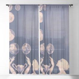 Fashion Dreams Sheer Curtain