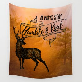 Humble & Kind Wall Tapestry