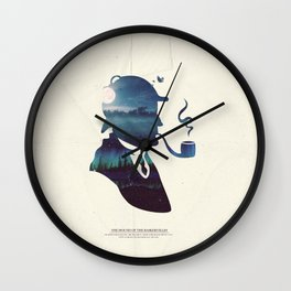 Sherlock - The Hound of the Baskervilles Wall Clock
