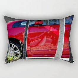 Red Hot At High Noon Rectangular Pillow