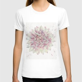 Big Succulent Watercolor T-shirt