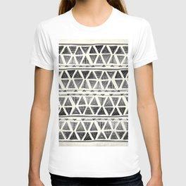 Tribal Geometric Chevron Stripes T-shirt