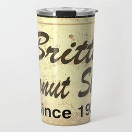 Britt's Donut Shop Sign 3 Travel Mug