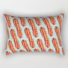 Bacon Pattern Rectangular Pillow
