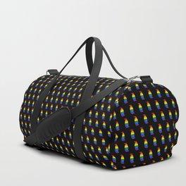 LGBT Pride Penguin Duffle Bag