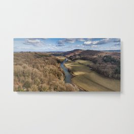 View From The Rock Metal Print