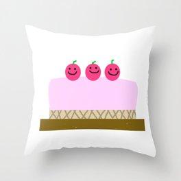 Sweet cake Throw Pillow