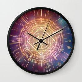 Strange Magic Mandala 1 Wall Clock