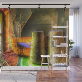 The Sewing Basket Wall Mural