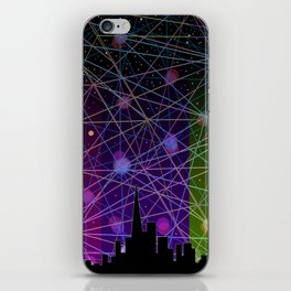 A Futurist's Starry Night iPhone Skin