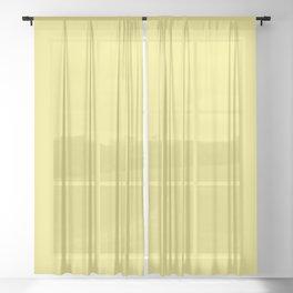 Lemon Verbena F3E779 Sheer Curtain