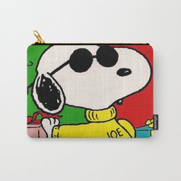 Snoopy vintage Christmas Carry-All Pouch