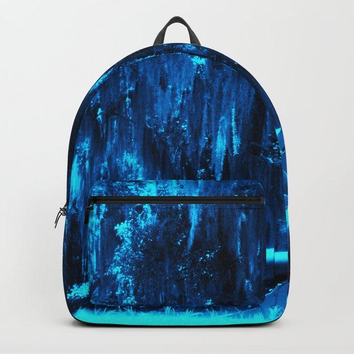 Blue Moss Backpack
